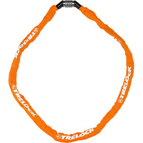 Trelock BC 115 Code Chain Lock 60cm, pomarańczowy